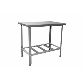 Стол разделочный из нержавейки, стол нержавеющий, стол для общепита из нержавеющей стали