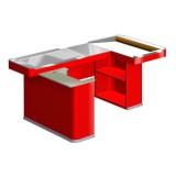 Кассовый бокс Unit Maxi 2 190 красный