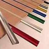 Вставка пластиковая для экономпанелей L=1200  цветная